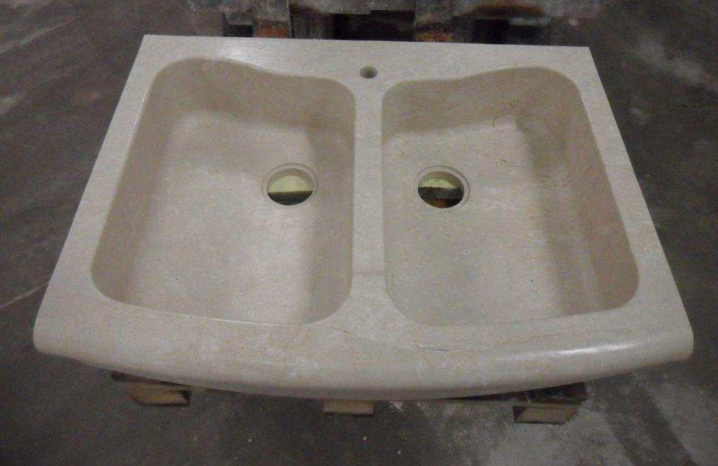 Lavello in pietra modello Brescia