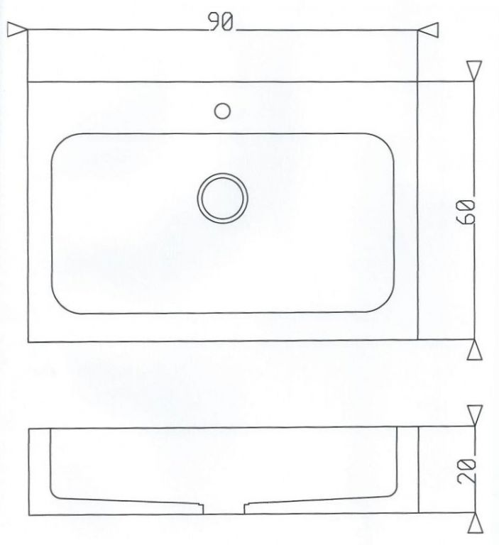 Lavello In Pietra Modello Genova