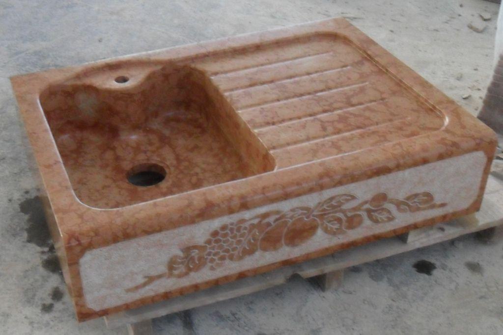 Lavandino in pietra modello aosta - Lavello cucina in pietra ...