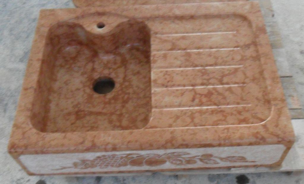 Lavandino in pietra modello aosta - Lavandino in pietra per cucina ...