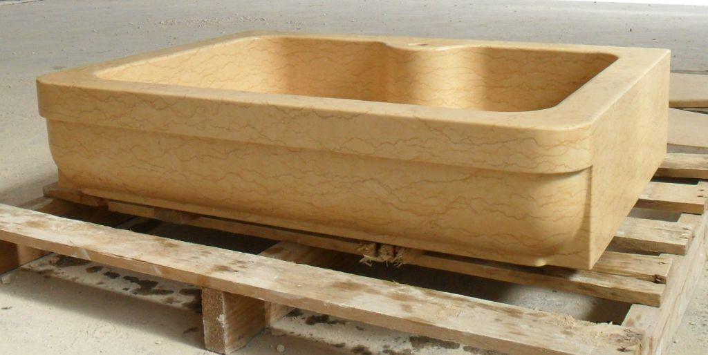 Lavello in pietra modello milano - Lavelli cucina in pietra ...