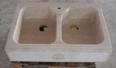 Lavello in pietra modello Firenze Lavorazione Marmi a Venezia: Marmi Piccolo