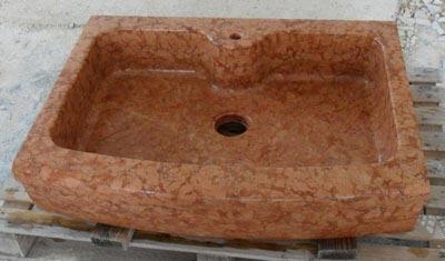 Lavello in pietra modello Parma Lavorazione Marmi a Venezia: Marmi Piccolo