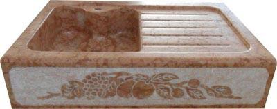 Lavello in pietra modello Aosta