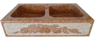 Lavello in pietra modello Venezia Lavorazione Marmi a Venezia: Marmi Piccolo