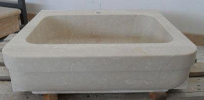 Lavello in pietra modello Verona Lavorazione Marmi a Venezia: Marmi Piccolo