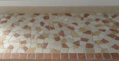 Palladiana botticino rosso asiago giallo reale Lavorazione Marmi a Venezia: Marmi Piccolo