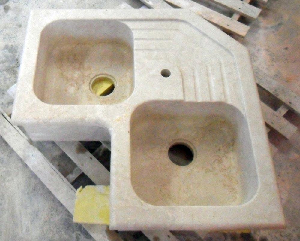 Lavelli Ad Angolo Misure lavello in pietra ad angolo: marmi piccolo progettazione e
