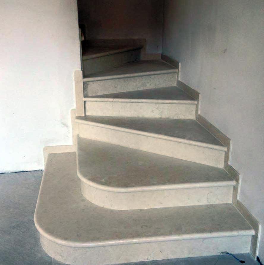 Produzione scale in marmo in provincia di venezia - Scale di colore ...