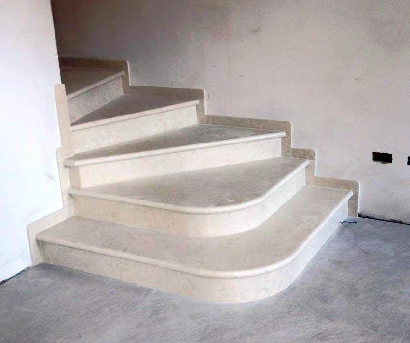 Produzione scale in marmo in provincia di venezia - Scale in marmo ...